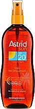 Parfémy, Parfumerie, kosmetika Opalovací olej ve SPF20 - Astrid Sun Suncare Spray Oil SPF20