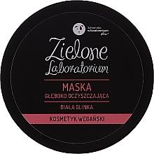 Parfémy, Parfumerie, kosmetika Hluboce čistící pleťová maska s bílým jílem - Zielone Laboratorium