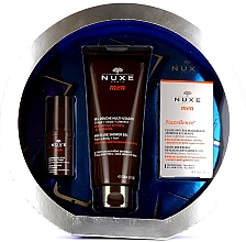 Parfémy, Parfumerie, kosmetika Sada - Nuxe Men Anti-Age (eye/cr/15ml + f/fluid/50ml + sh/gel/200ml)
