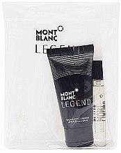 Parfémy, Parfumerie, kosmetika Montblanc Legend - Sada (edt/7.5ml + ash/balm/50ml)