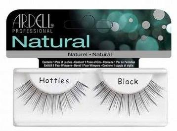 Umělé řasy - Ardell Natural Hotties Black — foto N1