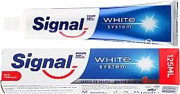 Parfémy, Parfumerie, kosmetika Zubní pasta - Signal White System Toothpaste