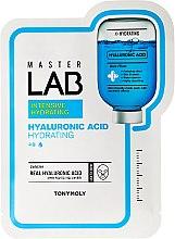 Parfémy, Parfumerie, kosmetika Plátýnková maska na obličej s kyselinou hyaluronovou - Tony Moly Master Lab Hyaluronic Acid Mask