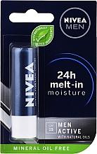 Parfémy, Parfumerie, kosmetika Balzám na rty pánský - Nivea Men Active Care SPF 15