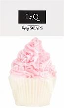 """Parfémy, Parfumerie, kosmetika Přírodní mýdlo ruční výroby """"Muffin"""" s vůní višně - LaQ Happy Soaps Natural Soap"""