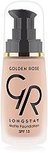 Parfémy, Parfumerie, kosmetika Make-up - Golden Rose Longstay Matte Foundation