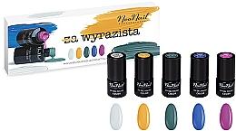 Parfémy, Parfumerie, kosmetika Sada - NeoNail Professional Wyrazista Set (5 x nail/polish/3ml)