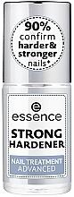 Parfémy, Parfumerie, kosmetika Zpevňující pečijící lak na nehty - Essence Strong Hardener Nail Treatment Advaced
