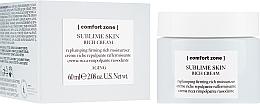 Parfémy, Parfumerie, kosmetika Výživný krém na obličej - Comfort Zone Sublime Skin Rich Cream