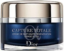 Parfémy, Parfumerie, kosmetika Noční regenerační krém na obličej a krk - Dior Dior Capture Totale Nuit Intensive Night Restorative Creme