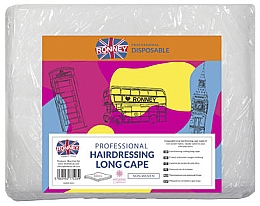 Parfémy, Parfumerie, kosmetika Kadeřnická pláštěnka dlouhá - Ronney Professional Hairdressing Long Cape