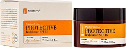 Parfémy, Parfumerie, kosmetika Ochranné tělové mléko - Phenome Outdoor Defense Protective Body Lotion SPF 15