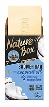 Parfémy, Parfumerie, kosmetika Tuhé sprchové mýdlo s kokosovým olejem - Nature Box Coconut Oil Shower Bar