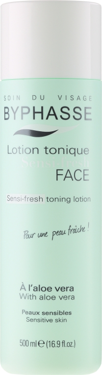 Tonikum pro citlivou plet' - Byphasse Sensi-fresh Aloe Vera Toning Lotion