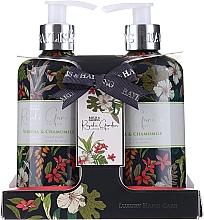 Parfémy, Parfumerie, kosmetika Sada - Baylis & Harding Royale Garden (soap/300ml + h/cr/300ml)