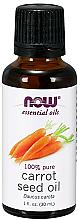 Parfémy, Parfumerie, kosmetika Esenciální olej Semena mrkve - Now Foods Essential Oils 100% Pure Carrot Seed Oil