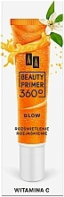 Parfémy, Parfumerie, kosmetika Podkladová báze pd make-up s vitaminem C - AA Beauty Primer 360 Glow Make-Up Base Vitamin C