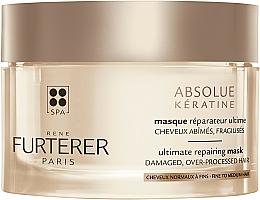 Parfémy, Parfumerie, kosmetika Intenzivní obnovující maska pro poškozené a oslabené vlasy - Rene Furterer Absolue Keratine Ultimate Repairing Mask