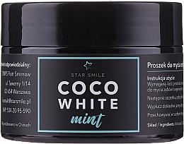 Parfémy, Parfumerie, kosmetika Zubní prášek - Star Smile CoCo White Mint