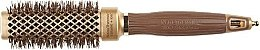 Parfémy, Parfumerie, kosmetika Profesionální vyhřívací kartáč na vlasy 30 mm - Olivia Garden Nano Thermic Ceramic + Ion Shaper 30