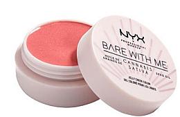 Parfémy, Parfumerie, kosmetika Tvářenka-želé - NYX Professional Makeup Bare With Me Hemp Jelly Cheek