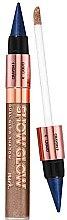 Parfémy, Parfumerie, kosmetika Oční stíny v tužce 2v1 - Avon Show Glow Dual Eye Shadow