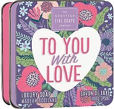 Parfémy, Parfumerie, kosmetika Mýdlo Pro tebe, s láskou - Scottish Fine Soaps To You with Love Soap In A Tin