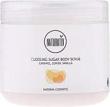 Parfémy, Parfumerie, kosmetika Cukrový peeling na tělo - Naturativ Cuddling Body Sugar Scrub