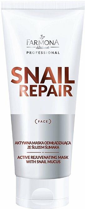 Aktivní omlazující maska s hlemýždím slizem - Farmona Professional Snail Repair Active Rejuvenating Mask With Snail Mucus