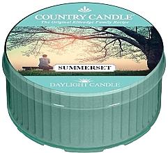 Parfémy, Parfumerie, kosmetika Čajová svíčka - Country Candle Summerset Daylight