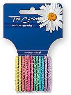 Parfémy, Parfumerie, kosmetika Gumičky do vlasů 12 ks, mix barev, 21954 - Top Choice