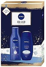 Parfémy, Parfumerie, kosmetika Sada - Nivea Feel Good (b/milk/250ml + b/cr/250ml)