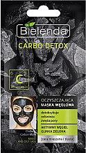 Parfémy, Parfumerie, kosmetika Čisticí maska s aktivním uhlím pro mastnou a smíšenou pleť - Bielenda Carbo Detox Cleansing Mask Mixed and Oily Skin