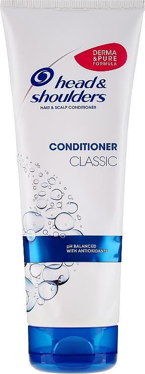 Kondicionér proti lupům na normální vlasy - Head & Shoulders Conditioner Classic — foto N1