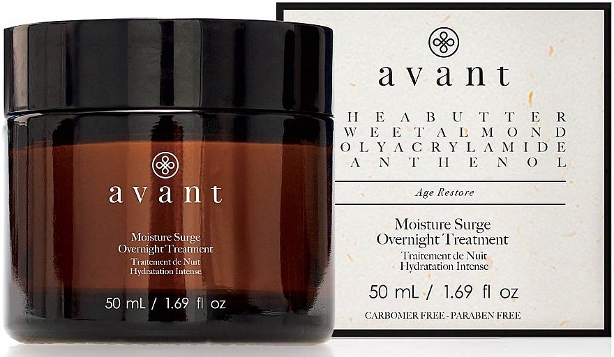 Intenzivně hydratační noční krém na obličej - Avant Skincare Moisture Surge Overnight Treatment — foto N1