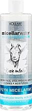 Parfémy, Parfumerie, kosmetika Hydratační micelární tekutina - Vollare Goat's Milk Micellar Water Hedra Hyaluron