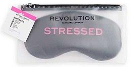 Parfémy, Parfumerie, kosmetika Škraboška na spaní - Revolution Skincare Stressed Mood Calming Sleeping Eye Mask