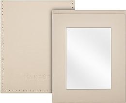 Parfémy, Parfumerie, kosmetika Skládací kapesní zrcadlo, béžové - MakeUp Pocket Mirror Beige