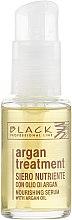 Parfémy, Parfumerie, kosmetika Sérum na vlasy s arganovým olejem, keratinem a kolagenem - Black Professional Line Argan Treatment Serum