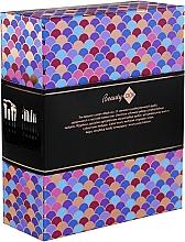 Parfémy, Parfumerie, kosmetika Sada štětců na líčení v pouzdře, 12 ks - Inter-Vion Beauty Look