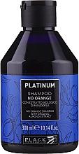 Parfémy, Parfumerie, kosmetika Šampon s rostlinným extraktem z mandlí pro neutralizaci oranžových a měděných odstínů - Black Professional Line Platinum No Orange Shampoo With Organic Almond Extract