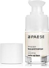 """Parfémy, Parfumerie, kosmetika Báze pod makeup """"Korektující"""" - Paese Correcting Make-Up Base"""