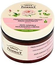 """Parfémy, Parfumerie, kosmetika Krém na obličej """"Růže"""" - Green Pharmacy Anti-Wrinkle Vanishing Cream"""