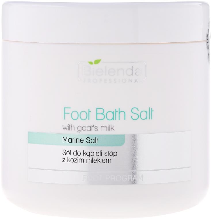 Sůl na pedikúru s kozím mlékem - Bielenda Professional Foot Bath Salt With Goat's Milk — foto N1