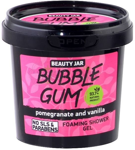"Sprchový gel ""Bubble Gum"" - Beauty Jar Foaming Shower Gel"
