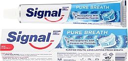 Parfémy, Parfumerie, kosmetika Zubní pasta - Signal Pure Breath Toothpaste