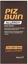 Parfémy, Parfumerie, kosmetika Opalovací krém na obličej - Piz Buin Allergy Face Cream SPF50