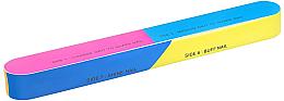 Parfémy, Parfumerie, kosmetika 7stranný buff pro nehty 163x22x17mm - Tools For Beauty 7-way Nail Buffer Block