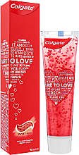 Parfémy, Parfumerie, kosmetika Zubní pasta se srdíčky, červená - Colgate Dare To Love