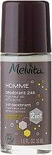 Parfémy, Parfumerie, kosmetika Deodorant - Melvita Homme 24H Deodorant